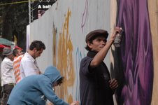 Graffitti en Ecatepec