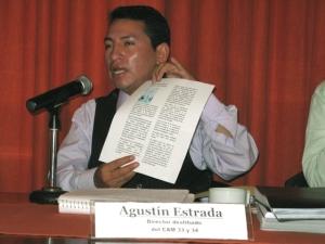 Agustín Estrada Negrete. Foto Cencos