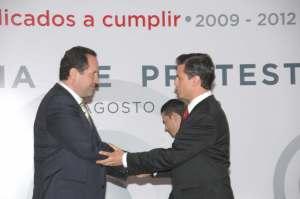 Eruviel Avila y Peña Nieto
