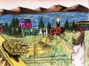 Niña de Ecatepec gana concurso de Cultura Turística