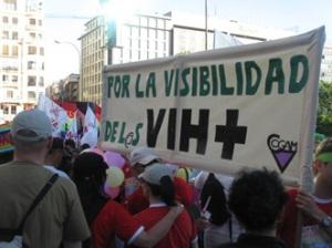 Visibilidad de los VIH+